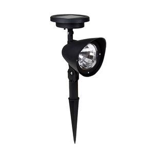 2pcs Atacado 3 LED Solar Spotlight Exterior Jardim Paisagem Lawn Quintal Path ponto Decor Light Lamp Auto On