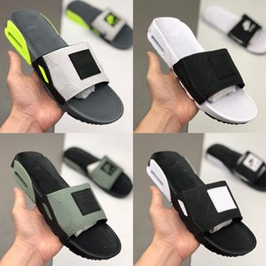 Air Cushion 90 Slipper For Men Man praia do verão Shoes Maxes vapores Design de Moda Slides Volt Oreo ABEZ aleta macho-flops mocassins pantoufle