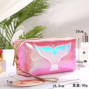 Functional Cosmetic Bag Women Fashion Travel Make Up Necessaries Organizer Zipper Makeup Case Pouch Toiletry Kit Bag