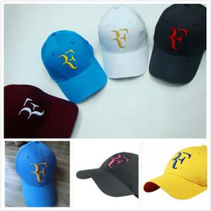 2019 Roger Federer RF Hybrid Baseball Baseball caps Autumn 2018 NEW 100% Cotton Sports Cap Snapback Women and men Baseball Cap Roger Federer
