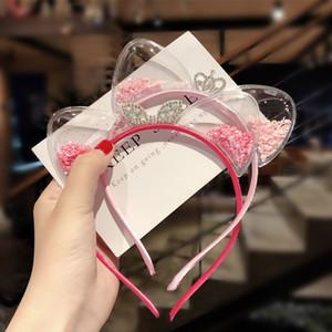 YEABIU Filles Oreilles Chat Bandeau Enfants Accessoires cheveux CHOUCHOU Bébés filles Bandeaux enfants Couvre-chef Princesse cadeau de Noël