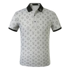 2020 Summer Italy designers polo shirt Fashion Luxurious Brand medusa t shirts mens Casual Cotton polos with embroidery queletter Tops