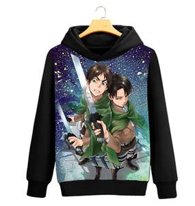 Ataque em Titan camisola anime Camisolas e pulôveres unissex streetwear tops de manga longa Hoodies casuais camisola Blusa Shirts