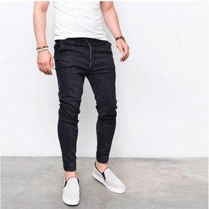 CYSINCOS 2018 Nuova Primavera Estate Lungo pantaloni della matita casuali dimagriscono jeans da uomo Slim Fit pantaloni elastico in vita Maschio Pantalones1