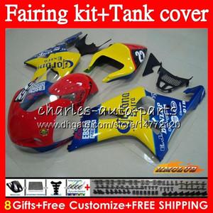 Vücut + Tank İçin SUZUKI Açık satış GSXR 1000 K2 yarış sarı GSX R1000 GSXR1000 86HC.56 GSXR1000 2000 2001 2002 GSXR1000 00 01 02 Kalafatlama kiti