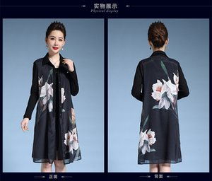 2019 autumn and winter new women's fashion suit shirt collar windbreaker