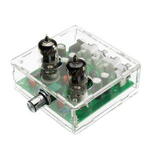 AC 12V 6J1 Válvula de pré-amplificador de tubo pré-amplificador Conselho Headphone Amplifier Tampão Caso