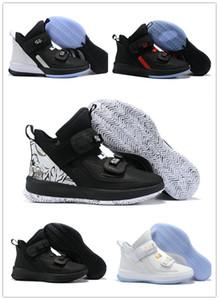 2019 New Fashion Soldier 13 XIII zapatos de baloncesto de moda para hombre de buena calidad negro blanco hielo azul soldados 13s deportes zapatillas US 7-12