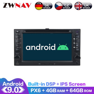 Android 9 pantalla IPS PX6 DSP para KIA SORENTO SPORTAGE MAGENTIS MAÑANA CEED RIO CERATO GPS Multimedia Player Radio Audio DVD del coche estéreo