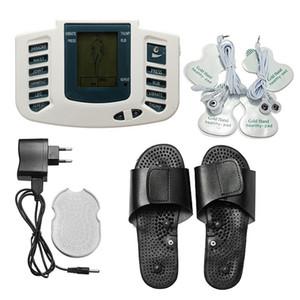 Macchina elettronica multifunzionale di terapia di massaggio del corpo dell'affissione a cristalli liquidi con il pistone del piede Massaggio del massaggiatore