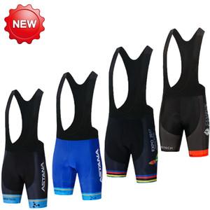 ASTANA Pro Cycling Shorts 2020 Cycling bib Pants Racing Sport Bike bottom Short Ropa Ciclismo Gel pad