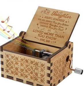Pure Manual Classical Music Box Hand Woodiness The Music Box Sunshine Arts And Crafts