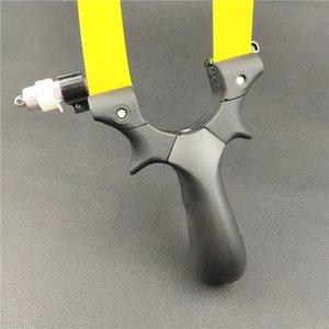 Поликарбонат FlatTop Волоконно-оптический свет Таргетинг Slingshot таблетки Tied ночного видения Precision изогнутый Slingshot