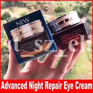 Ünlü Göz Makyaj Gelişmiş Gece Onarım Göz Kremi Göz bakımı Supercharged Karmaşık Senkronize Kurtarma 15 ml ücretsiz kargo