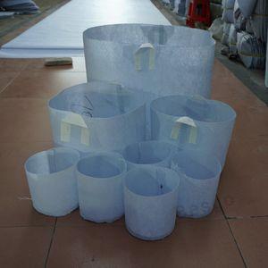 11 Taille non tissé Sacs réutilisables plantes souple Pots GROW Hautement respirant Plantation Sac avec poignées bas prix Grande fleur Planteur DBC BH2865