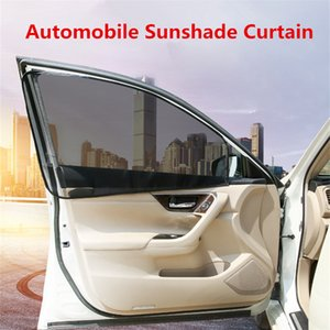 2pcs Car Window Sunshade Protection Sun Shade Curtain Automobiles Side Rear Back Mesh Sun Visor Cover