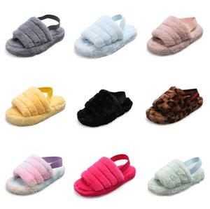 Malemonkey 1428 plataforma de la moda Mujer Zapatillas Negro cuña de los tacones altos zapatos de verano 2020 color sólido cómodo Beach Mujer # 361