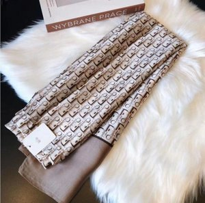 Марка Дизайнер шарф для женщин Spring Letter Pattern Роскошные шарфы высокого качества полиэстер шелк Длинные шали DIOR