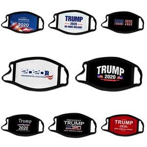 Mascarillas al por mayor de 3 capas protectoras de polvo facial Maske er protectora Ski Set del polvo anti Diseñador Trump Máscara facial adultos FACEM # 176