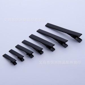 Clips de cheveux Factory Direct 3.5 / 4.5 / 5 cm Clip carré Noir DuckBill Poitrine à cheveux Pénupteur Enfants Puisselles coiffures