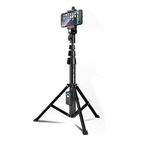 Selfie Stick-Stativ Fugetek, Integriertes, tragbares All-In-One-Profi-Gerät, Hochleistungsaluminium, Leichtgewicht, Bluetooth-Fernbedienung für Apple