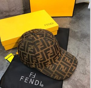 662019 hommes classiques et les femmes FF lettres tendance style décontracté beau sport personnalisé de conception d'impression de l'industrie lourde gros chapeau occasionnel
