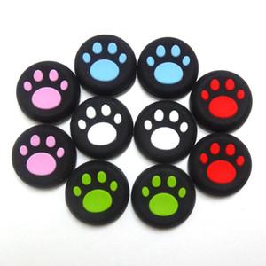 5 цветов Cat Claw Резиновые Силиконовые Джойстик Cap Палец Ручка Рукоятки Крышки Для PS4 PS3 Xbox One 360 Контроллер для Переключателя NX NS