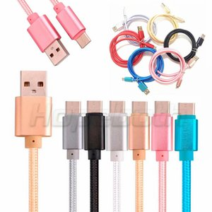 1M 2m 3M OD 5.0 Thick micro 5pin V8 Fabric braided nylon usb data charger cable for samsung s4 s6 s7 edge for htc lg sony