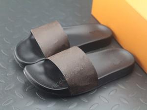 Lüks Tasarımcı Mens Womens Yaz Sandalet Plaj Slayt Waterfront Terlik Bayanlar Sandali Firmati Da Donna Ayakkabı Klasik Baskı Çiçek