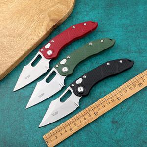 Го три модели = микро технология DOC автоматический нож (смертельный контакт) M390 криогенная обработка + 60HRC + EDC инструмент