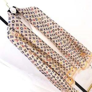 Spring Summer Woman soft Silk Scarf High quality 180*90cm Square Scarf Shawl Wraps Hot Sale Dot Plaid Satin Scarf Printed for ladies
