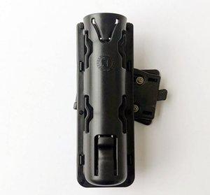 Ceinture large et ajustée. Boucle de ceinture tactique multi-suspensions avancée. Fourreau en bâton EKA GAS. Baguette en kydex.