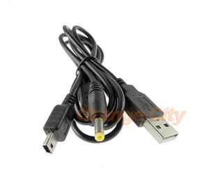 2 في 1 Black Data Charging Charger Transmission USB 2.0 Cable 1.2M for PSP 1000 2000 3000 for PSP1000 PSP2000 PSP3000