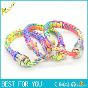 Good New arrival bracelet pipe tobacco smoking pipe sneak a toke for tobacco flyer shisha dry herb smoking pipe