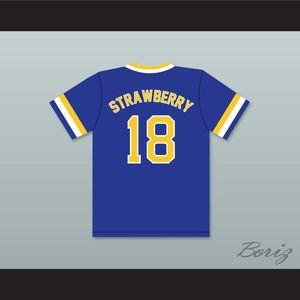 Desconto Darryl Morango 18 Crenshaw High School Cougars Jersey Jersey Azul Mens Costurado Camisas Camisas Tamanho S-XXXL Frete Grátis