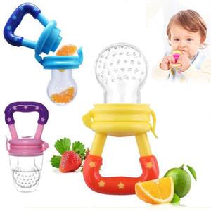 Infant bambini il cibo con i capezzoli Alimentazione sicura Feeder bambino ciuccio bottiglie capezzoli Teat frutta fresca Nibbler bambino Bite Molari Ciuccio