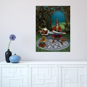 Michael Cheval artwork Imagine III Home Decor Handpainted &HD Print Oil Painting On Canvas Wall Art Canvas Pictures 200517