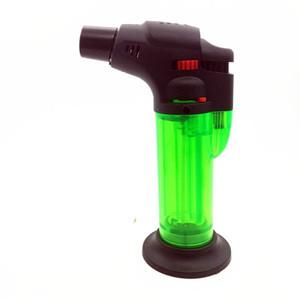 Refillable Metal Adjustable Flame Windproof Butane Gas lighter 1300 jet flame Torch Lighter Cigarette Cigar Llighter for tobacco pipe tools