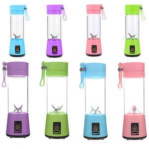 400ML Персональный блендер Travel Cup USB Портативный электрический Соковыжималка блендер аккумуляторная Соковыжималка бутылки фруктов Растительные Кухня инструмент WX9-1681