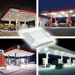 2019 60W 100W 150W LED Kanopi Işıklar Açık sel ışık Benzin İstasyonu Lamba Yüksek Bay ışık AC 100-277V led