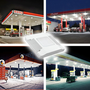 2019 60W 100W 150W LED Canopy Lichter Outdoor-LED-Flutlicht Tankstelle Lampe High Bay Licht AC 100-277V