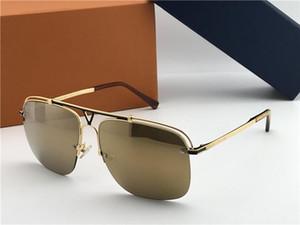 luxo óculos de sol dos homens óculos de sol EMBARQUE de metal moldura quadrada qualidade superior estilo popular best-seller protecção eyewear uv 400 lente 2335