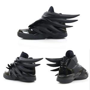 2019 Luxus-Designer Jeremy xOriginal Flügel 3.0 Triple Black Sneakers Frauen Herrenmode Freizeitschuhe Weinlese-Personality-Jungen-Mädchen-Schuhe