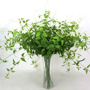 96cm 1 Pieza artificial Hiedra verde falso hojas madreselva colgar de la pared de la planta de plástico verde Plantas jardín casero Decor