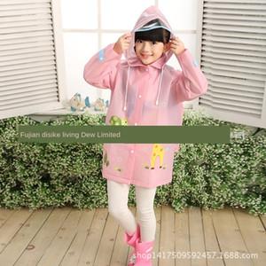 Eva Boys 'Cloak Girls' e con impermeabile Poncho Cloak School School BAG SCOLLE SCOLLE STUDENTI SCHOOLBAG AINACCOAT NNUSL