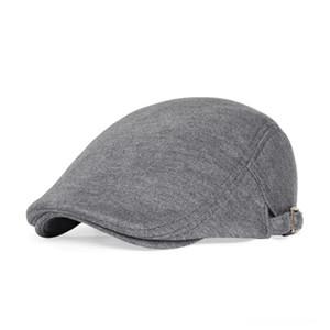 VOBOOM Flat Cap Men Cabbies Golf Ivy Caps Hats & Caps Hats, Scarves & Gloves Gatsby Hat Newsboy Hats Driver Boina 039