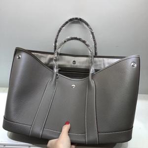 Kafunila geuine leather garden party tote bag for women 2019 роскошные сумки женские сумки дизайнер известный бренд сумка bosla T200322