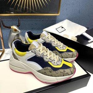 2020b nuevos zapatos deportivos auténticos de los hombres de cuero grandes zapatillas de deporte con cordones salvajes tamaño de la moda del bajo-top zapatos de la marea cómoda transpirable, tamaño: 35-45