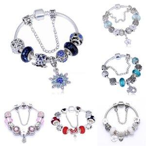 Nouveau Perfect Logo Charm Gravé S925 Sterling Sliver Pandoras Bracelet Diy femmes Bangles Bijoux pour des femmes cadeau # 815