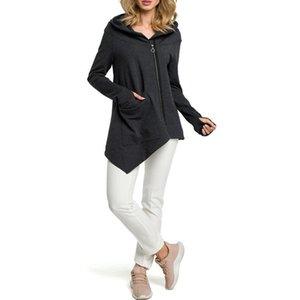 Pregnant Sweatshirt Nursing Maternity Famale Coat Autumn Winter Hoodies Street Sweaters for Pregnant Women S-XXXL Clothes 2019